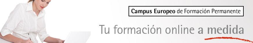 Campus europeo, formación permanente, elerning, formación online