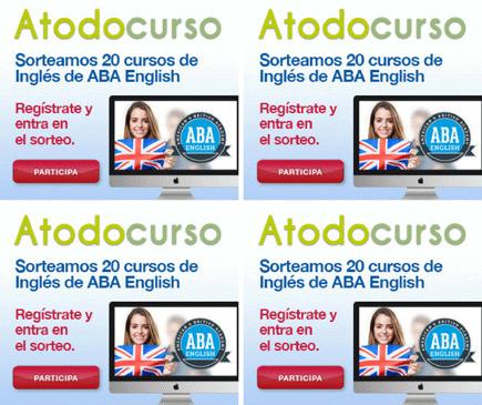 Sorteo 20 matrículas ABA English