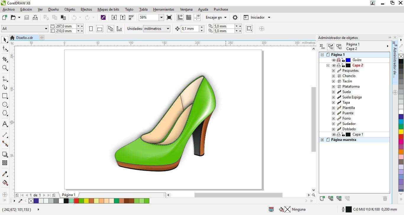 Diseño moda y calzado